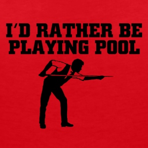 Id rather be playing pool - Frauen Bio-T-Shirt mit V-Ausschnitt von Stanley & Stella