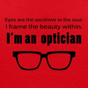 Optiker: Eyes are the windows to the soul. I frame - Frauen Bio-T-Shirt mit V-Ausschnitt von Stanley & Stella