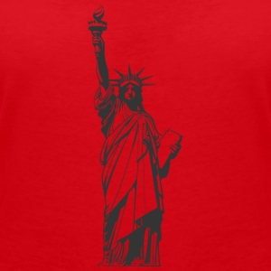 statue of Liberty - Women's Organic V-Neck T-Shirt by Stanley & Stella
