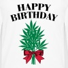 Cannabis - Happy Birthday  - Men's Premium Longsleeve Shirt