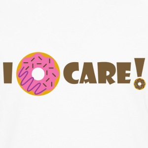 I Donut Care - Men's Premium Longsleeve Shirt