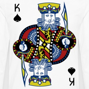 King of Spades Poker Hold'em - Männer Premium Langarmshirt