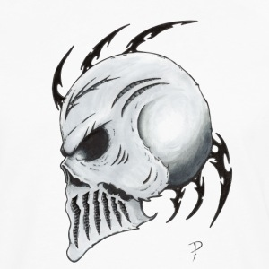 Tribal Skull - Men's Premium Longsleeve Shirt