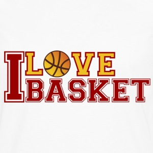 Love-Basketball - Men's Premium Longsleeve Shirt