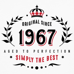 original since 1967 simply the best 50th birthday - Men's Premium Longsleeve Shirt