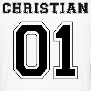 Christian 01 - Black Edition - Men's Premium Longsleeve Shirt