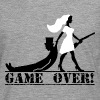 the hunt is over JGA Game over die Jagd ist vorbei - Männer Premium Langarmshirt