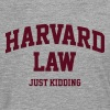 Harvard Law (just kidding) - Men's Premium Longsleeve Shirt