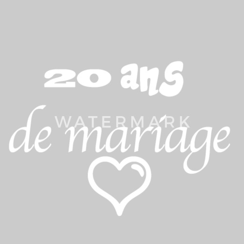 20 Years Of Marriage By Iconic Design Spreadshirt