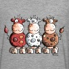 Funny Colourful Cows - Men's Premium Longsleeve Shirt
