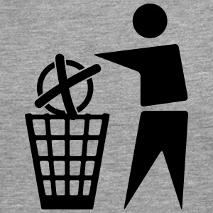 To cast a vote for the trash - Men's Premium Longsleeve Shirt