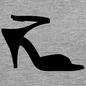 Vector highheels Silhouette - T-shirt manches longues Premium Homme
