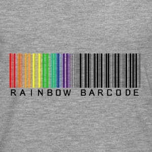 Rainbow barcode - T-shirt manches longues Premium Homme