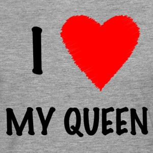 I Love My Queen - Men's Premium Longsleeve Shirt