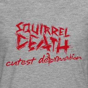 SQUIRREL DEATH - 'cutest deformation' - Men's Premium Longsleeve Shirt