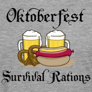 Oktoberfest Survival Rations - Men's Premium Longsleeve Shirt
