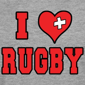 I Love Rugby Football - Men's Premium Longsleeve Shirt