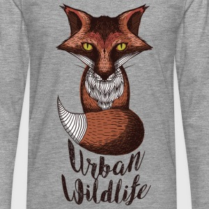 urban wildlife red - Men's Premium Longsleeve Shirt