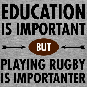 Education - Playing Rugby