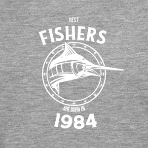 Present for fishers born in 1984 - Men's Premium Longsleeve Shirt