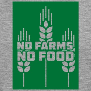 Farmer / Farmer / Farmer: No Farms, No Food - Men's Premium Longsleeve Shirt