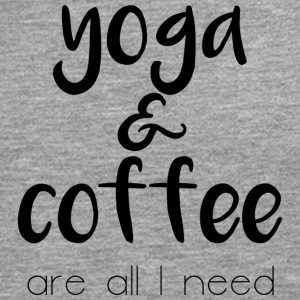 Yoga & coffee - Men's Premium Longsleeve Shirt