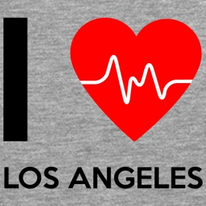 I Love Los Angeles - I love Los Angeles - Herre premium T-shirt med lange ærmer