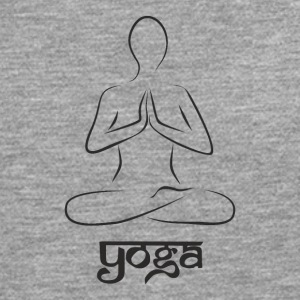 Yoga and meditation - Men's Premium Longsleeve Shirt