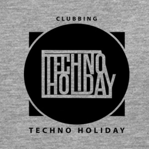 logo_techno_holiday_2017_negro1 - Men's Premium Longsleeve Shirt