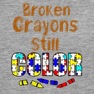 Broken crayons still color - Men's Premium Longsleeve Shirt