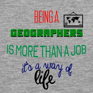 Being a geographer is more than a job - Men's Premium Longsleeve Shirt