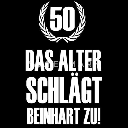 50 Geburtstag Manner Premium Langarmshirt Spreadshirt