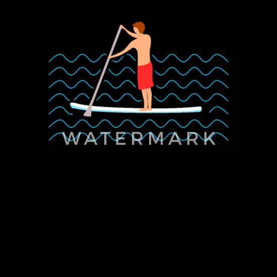 Zip-Hoodie -S-Dunkel-Blau SUP Stand Up Paddling Paddle Board Surfen Surfer Surfbrett Wellen Wassersport