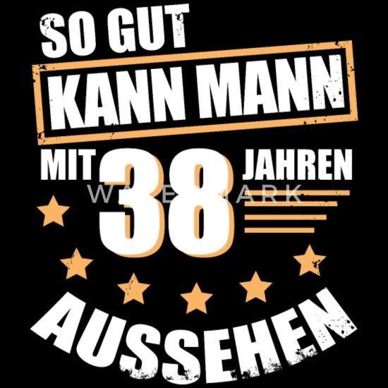 38 38 Geburtstag Geschenk Für Den Mann Männer Premium