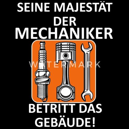 Lustiger Spruch Kfz Mechaniker Techniker Schrauber Männer Premium