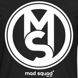 Squad Mad Man Fan T-skjorte - Premium langermet T-skjorte for menn
