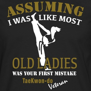 Tae Kwon Do Ladies Veteran - Herre premium T-shirt med lange ærmer