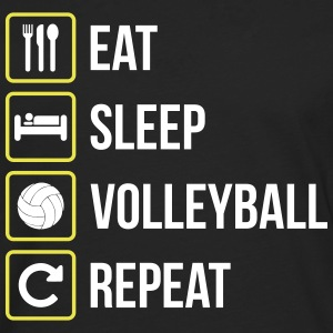 Eat Sleep Volleyball Repeat - Männer Premium Langarmshirt