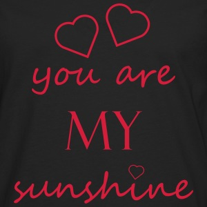 You are my sunshine - Love relationship Partner Love - Men's Premium Longsleeve Shirt