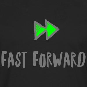 fast Forward - T-shirt manches longues Premium Homme