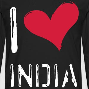 I love India - Men's Premium Longsleeve Shirt