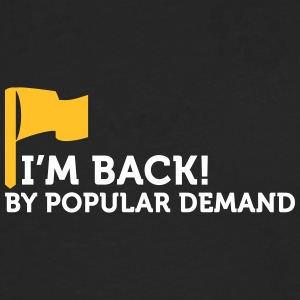 I'm Popular And In Demand! - Men's Premium Longsleeve Shirt