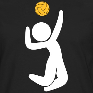 A Volleyball Player Jumps For The Ball - Men's Premium Longsleeve Shirt