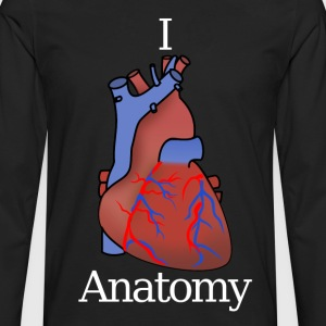 I love Anatomy - Men's Premium Longsleeve Shirt