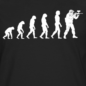 Evolution Paintball - Paintball T-Shirt - Men's Premium Longsleeve Shirt