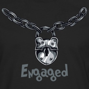 Engaged Chained - Men's Premium Longsleeve Shirt
