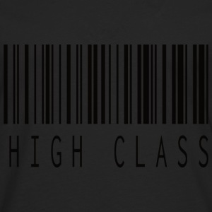 HIGH CLASS BARCODE BLACK - Men's Premium Longsleeve Shirt