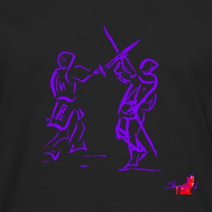 PURPLE SWORD - Men's Premium Longsleeve Shirt
