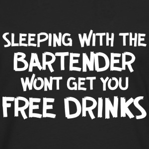 Sleeping with bartender - Men's Premium Longsleeve Shirt