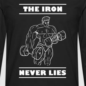 Iron Never Lies - Men's Premium Longsleeve Shirt